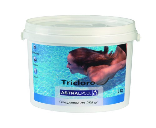BOTE COMPACTO TRICLORO 250gr ASTRAL